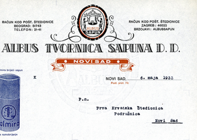 Albus-Novi-Sad,1933