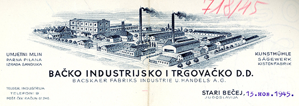 Backo-industrijsko-i-trgovacko,-Becej-1945