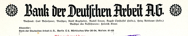 Bank-der-Deutchen-arbeit,-1939