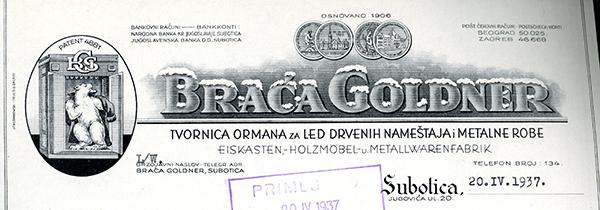 Braca-Goldner,-Subotica-1937