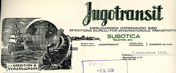 Jugotransit,-Subotica-1938