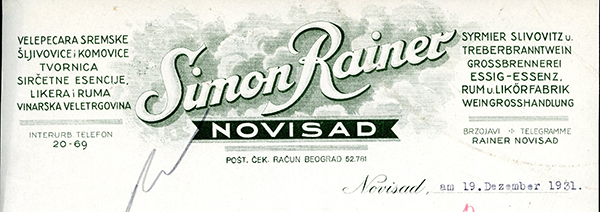 Simon-Rainer,-Novi-Sad-1931