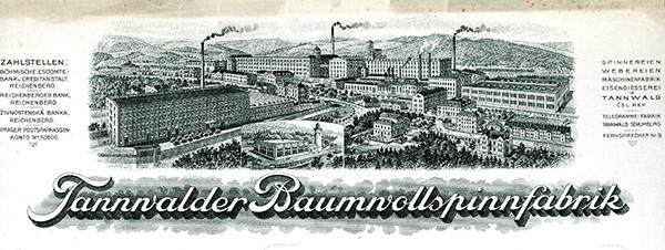 Tannalder-Baumnollspinfabrik,-Wien-1932