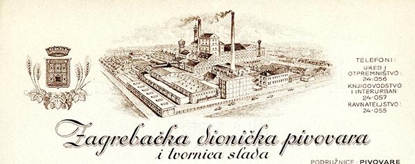 Zagrebacka-dionicka-pivovara,-1942