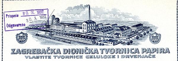 Zagrebacka-dionicka-tvornica-papira,-1932